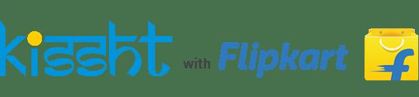 kissht-flipkart-logo