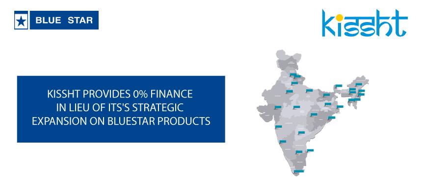 Kissht-BlueStar sales